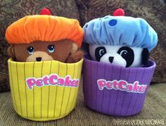 PetCakes collectable plush toy