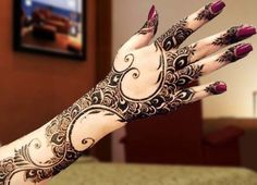 New Pakistani mehndi designs for Eid 2016 (1)