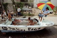 Hey, the water is supposed to be on the <em>outside</em> of the boat!
