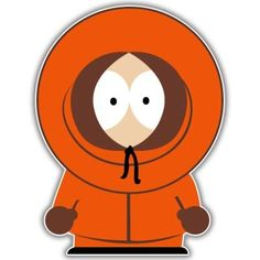 South Park Kenny Vynil Car Sticker Decal - Select Size