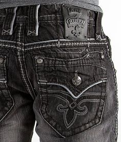 Rock Revival Corbin Boot Jean - Men's Clothing in Corbin Mens Clothing Styles, Clothing Ideas, Men's Clothing, Rock And Roll Jeans, Casual Chic, Men Casual, Fashion Pants, Mens Fashion, Outfit Man