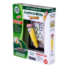 Amazon.com: LeapFrog Learn to Write with Mr. Pencil Stylus & Writing App (works with iPhone 4/4s/5, iPod touch 4G & iPad): Toys & Games