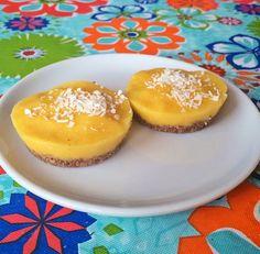 Raw Mango Coconut Bites