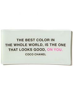 Well said. All it takes for me is one compliment and BOOM--closet filled with that color.