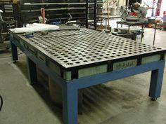 Weldsale Cast Acorn welding table