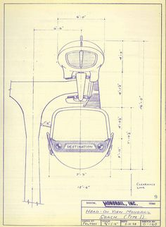 Alternative monorail proposal for World's Fair, 1958