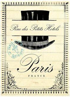French Document I Art Print by Z Studio at eu.art.com