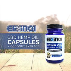 Made with only natural ingredients, our CBD capsules absorb quickly into the body to achieve maximum benefit. Cbd Hemp Oil, Coconut Oil, Benefit, Essential Oils, Natural Health, Nature, Bottles, Industrial, Healing