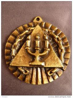 Franc Maçonnerie Médaille maçonnique