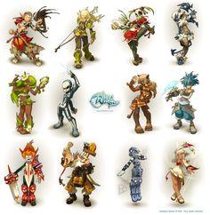 Wakfu_Characters_by_gueuzav.jpg (1463×1505)