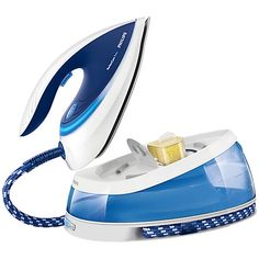 Buy Philips GC7619/20 PerfectCare Steam Generator Iron Online at johnlewis.com   A new steam iron would be fantastic. I'd like on with a reservoir.