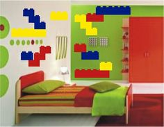 Lego Wall Decals Pack