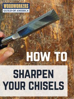 You'll need a whetstone and some lubricating oil. Notice the two different colors in the stone. The stone has a coarse side and a fine side. For honing, use the fine side. If you manage to chip a chisel, or otherwise damage it, and really need to remove some metal to make it right, start on the coarse side. Saturate the stone with oil. This prevents the metal filings, called swarf, from clogging up the stone.