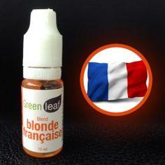 e-liquide green Leaf Goût Blonde Française