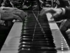 Poulenc - Two Piano Concerto, First Movement (Poulenc himself plays one of the pianos -- he's on the left).