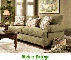 salute herb sofa by corinthian at furniture warehouse the 399 sofa store nashville