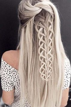Christmas Party Braid Hairstyles