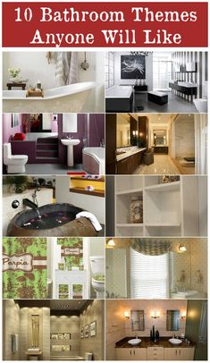 10 Bathroom Themes Anyone Will Like *** Click photo to review even more information. #gettingorganized