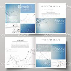 正方形デザインの bi のビジネス テンプレートは、パンフレット、雑誌、チラシを折る。リーフレットの表紙、レイアウトをベクトルします。幾何学的な青い色の背景、分子構造、科学概念。接続された直線と点 ロイヤリティフリー正方形デザインの bi のビジネス テンプレートはパンフレット雑誌チラシを折るリーフレットの表紙レイアウトをベクトルします幾何学的な青い色の背景分子構造科学概念接続された直線と点 - ビジネスのベクターアート素材や画像を多数ご用意