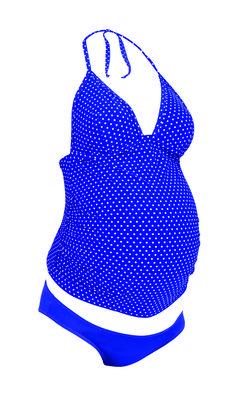 Tankini Premamá Dots [L4-9648] - 49,95€ : Tienda premamá online. Moda prenatal para embarazadas y ropa interior para embarazo y lactancia., Demamis.com