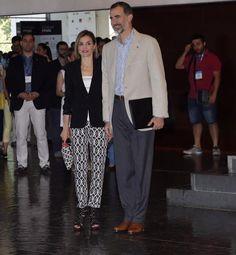 Queen Letizia and King Felipe visit Forum Impulsa 2015