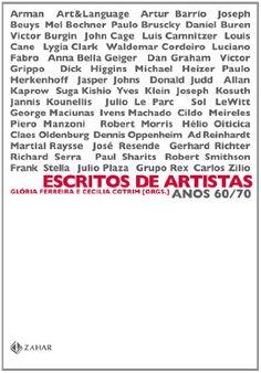ESCRITOS DE ARTISTAS - ANOS 60/70