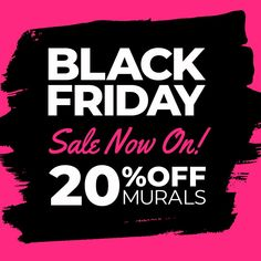 Black Friday Sale Now On! Get 20% off all wall murals - Ends midnight Sunday! Shop now at Wallsauce.com From bright botanical prints to stunning abstract designs, choose your perfect wallpaper from a vast collection. All wallpapers are made to your dimensions and printed onto a selection of high-quality wallpapers including peel and stick wallpaper - great for rented homes! Click to visit the website... #wallpaper #homedecor