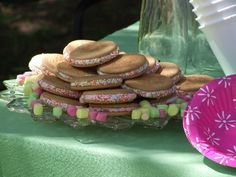 Marie Biscuit and marshmallow sandwich