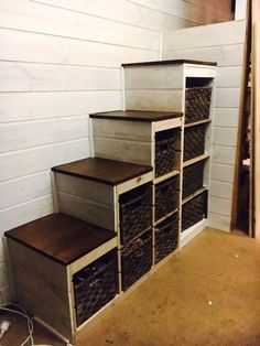 Trofast storage to sturdy stair conversion