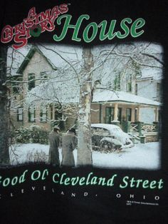 A CHRISTMAS STORY HOUSE Cleveland OH Sweatshirt Pullover Top Crew Neck Black 2X #JERZEES #SweatshirtCrew