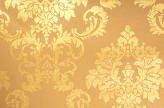 Tapete metallic Metallfolie auf Papier Ornamente beige gold online kaufen