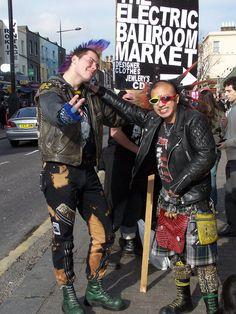 Punks in Camden
