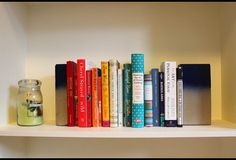 This simple and inexpensive DIY yields bookshelf-beautiful results that look store-bought.