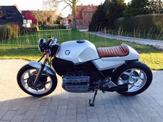 BMW K100 #café