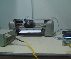 CNC With Old Printter - All