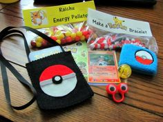 Pokemon Favors- Party Pokeballs