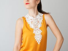 Grezzana // Bridal Necklace / French Lace Necklace/ Lace Jewelry/ White Necklace/ Bib Necklace/ Statement Necklace/ Gift For Her