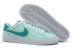 on sale a2cac b9ba5 Nike Classic Ac ND Women Shoes Light Blue White I love and want them so so