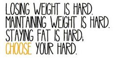 Losing Weight Is Hard: