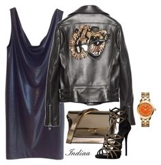"""""""Untitled #4048"""" by teastylef ❤ liked on Polyvore featuring COS, Gucci, Marni, Tory Burch and Giuseppe Zanotti"""