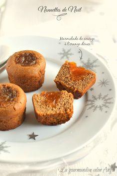 nonnettes à la marmelade de courge à l'orange  http://www.la-gourmandise-selon-angie.com/archives/2014/12/04/30664096.html