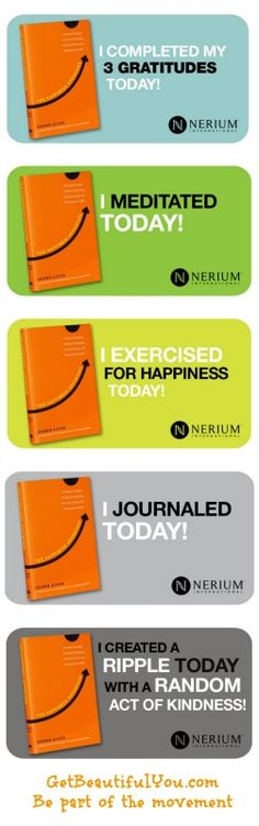The Happiness Advantage is becoming on of my favorite books! Become part of the Nerium community and Get Happy and become more successful!  http://GetBeautifulYou.com