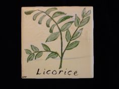 Licorice tile