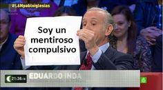 #L6Npabloiglesias Eduardo Inda alias Don Pantuflo reconoce que es un mentiroso compulsivo, lo primero es reconocerlo