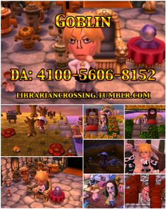 Labyrinth themed Animal Crossing: New Leaf dream town! Visit Jareth the Goblin King (David Bowie), Sarah, Toby, Hoggle, and Ludo. Can you find your way to the center of the labyrinth before the clock strikes thirteen? There are outfits to wear and treats to enjoy, as well as lots of hidden details. ACNL Dream Address: 4100-5606-8152.
