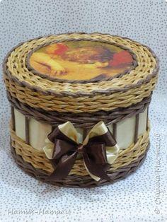 Поделка изделие Плетение Январь-февраль Трубочки бумажные фото 23