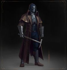 ArtStation - Second squad, Max Kiselyov Fantasy Concept Art, Fantasy Armor, Fantasy Character Design, Medieval Fantasy, Character Design Inspiration, Character Concept, Character Art, Dungeons And Dragons Characters, Sci Fi Characters