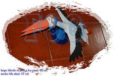 creaciones FOG: Cigüeña Jorge