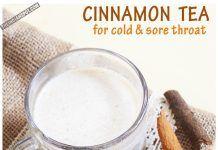 HEALTH DIY: DELICIOUS CINNAMON TEA RECIPE FOR COLD AND SORE THROAT