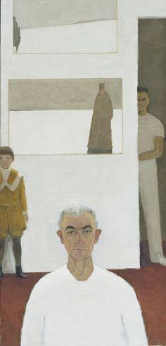 Jean Paul Lemieux - Autoportrait, 1974. Huile sur toile.